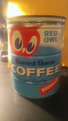 Red Owl Coffee Can