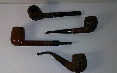 Vintage Smoking Pipes Medico - Westbrook - Atlantic Buryere West German LOT OF 4
