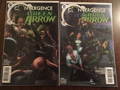 DC Comics 'Convergence Green Arrow' Issues #1-2 VF/NM