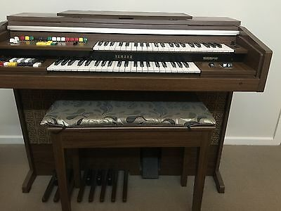 Yamaha Electone OrganB-35 *Exc used Condition* Fully serviced + Extras
