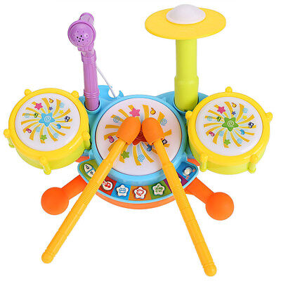 Kids Drum Set Educational Toys for Toddlers Gifts I7D1 Q9T7