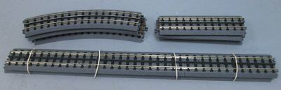 Assorted MTH RealTrax Curved and Staight Track (10) EX