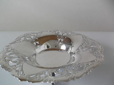 Vintage Meridional Silverplate Dish Made In Brazil