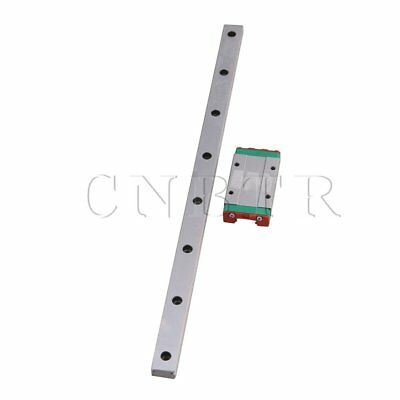 30cm MGN15 Extended Bearing Linear Sliding Guide Rails & Block Silver
