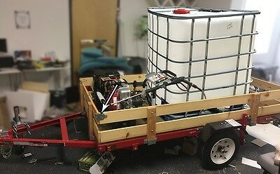 Mobile Carwash/surface Cleaner/pressure Wash Foldable Trailer New! No Water Tank