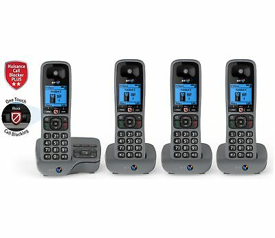 BT 6590 Cordless Telephone with Answer Machine - Quad. From Argos ebay