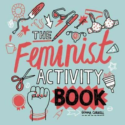 Feminist Activity Book by Gemma Correll 9781580056304 (Paperback, 2016)