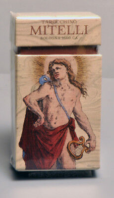 Tarocchino Mitelli Bologna 1660 Tarot Card Deck Replica - Nib - Available Now