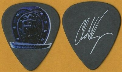 Nickelback Chad Kroeger 2009 Dark Horse concert tour signature black Guitar Pick