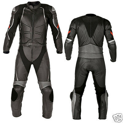 Men New Racing Motorbike Motorcycle Racing Leather Suit MST-203(USA 38,40,42)