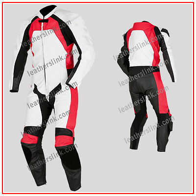Men New Racing Motorbike Motorcycle Biker Leather Suit MST-177(USA 44,46,48)