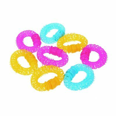 8X Lucky Donuts Curly Hair Curls Roller Hair Styling Tools Hair Accessories U3J6
