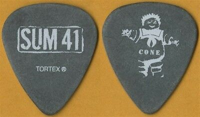 Sum 41 Cone McCaslin authentic 2008 Strength in Numbers concert tour Guitar Pick