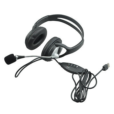 Q2 USB Stereo Earphone with MIC for Gaming Console Surround Sound PC Headse C3Q1