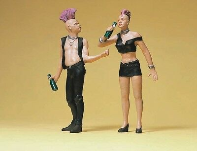 Preiser 45092 1:22.5 G Scale LGB Gauge Punks - NEW - MIB