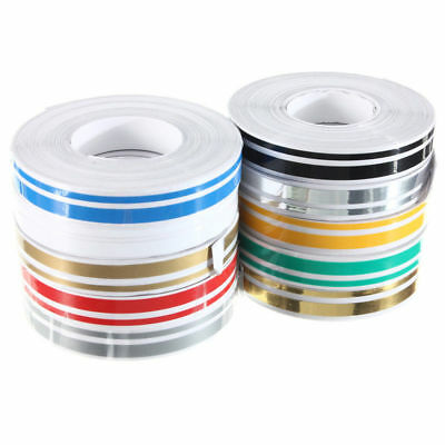 12mmx9.8m Double Pin Striping Stripe ABS Tape Decal Sticker Car 1/2 inch U7 I6V7