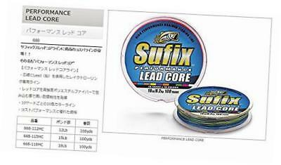 performance lead core 100 yards metered fishing line (15-pounds)