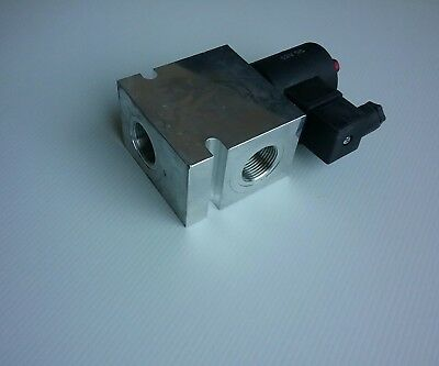 "12V  DC operated hydraulic check Valve 3/4"" BSPP ports"