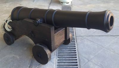 Pirate cannon display prop theater film garden