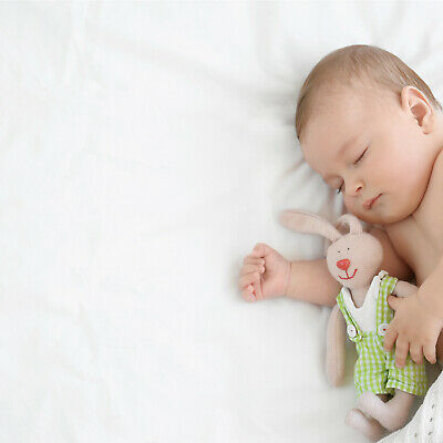 2x Spacesaver Cot Fitted Sheets 100% Cotton 100cm x 52cm - White