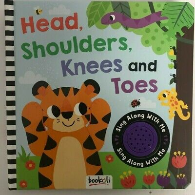 Head Shoulder Knees & Toes Sound Book Ages 0 Month+ Babies New Gift Igloo Books