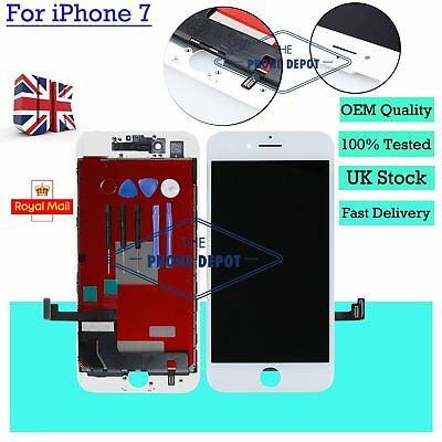 """Replacement For iPhone 7 LCD Screen Digitizer Touch Display Assembly White 4.7"""""""