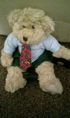 collectable teddy Winston by Russ
