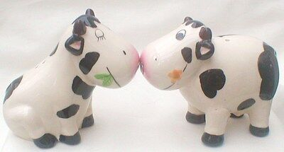 Novelty Cow Ceramic Cruet Set
