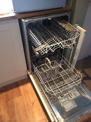 Integrated Slimline Dishwasher Used