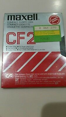 Maxell Compact Floppy Disk CF2 - New & Sealed