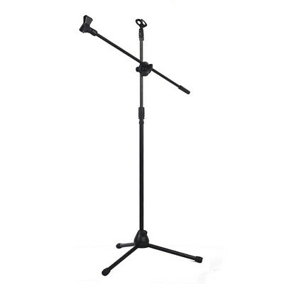 Professional Swing Boom Floor Stand Microphone Holder  N9G6 PF A3J1