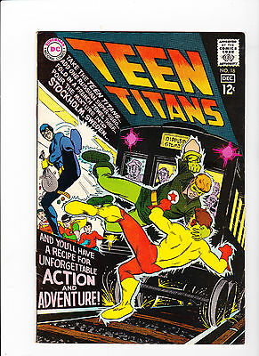 Teen Titans #18 (1966) - White Pages