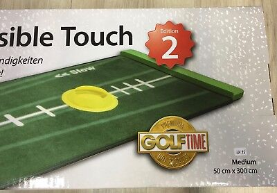 BEST TRACK Puttingmatte Medium Visible Touch Edition 2 NEU Vers.frei STATT119€