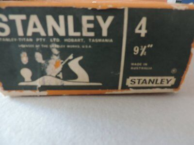 A Vintage No4 Stanley Planer made in Australia