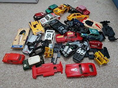 Scalextric Scrapyard Challenge Cars Ferrari Mini Etc