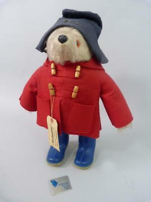 Superb original 1970s Paddington bear by Gabrielle Designs with all accessories