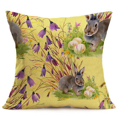 Easter Sofa Bed Home Decoration Festival Pillow Case Cushion Cover