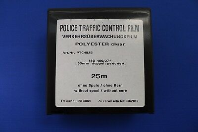 35mm BULK FILM 25M X 35mm POLICE TRAFFIC CONTROL 400ASA B&W SURVEILANCE FILM