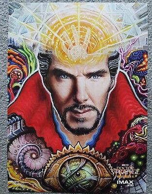 Doctor Strange IMAX mini poster.  AMC only