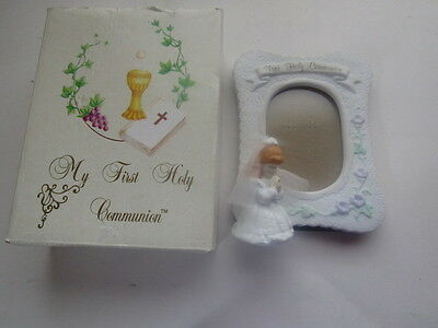 Russ First Communion photo frame NIB