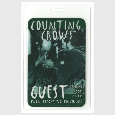 Counting Crows authentic 2012 Laminated Backstage Pass Outlaw Roadshow Tour rare