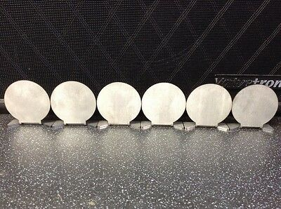 6 X 50Mm Diameter Stainless Steel Knockdown Targets