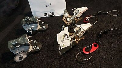 Dynafit Speed Turn 2.0 White ski touring freeride bindings