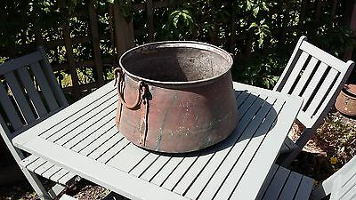 Vintage Copper Pan. Ideal Planter