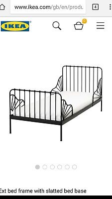 2×Ikea minnen bed with mattresses