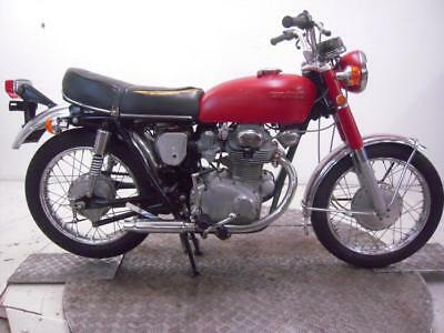 1971 Honda CB350K3 Unregistered US Import Barn Find Classic Restoration Project