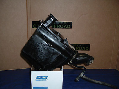 85-86 Suzuki LT250EF OEM Air Box complete 13700-24504