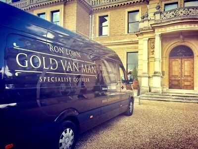 Specialised Courier Business For Sale GOLD VAN MAN (reduced to Sell)