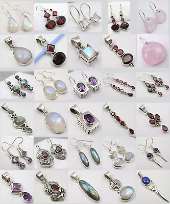 Wholesale Lot! 15 Lovely Silver Earrings Pendant Sets!