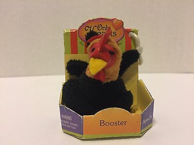 """ONLY HEARTS PETS """"BOOSTER"""" THE ROOSTER W/Key Clip HEARTS CLUB In Box✔"""
